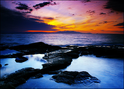 Troon shore