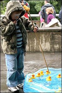 Fishing for ducks