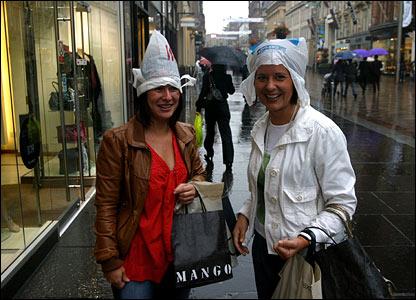 Wet shopping