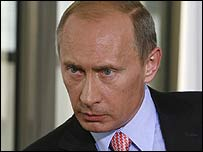 رئيس الوزراء الروسي، فلاديمر بوتين