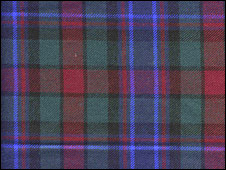 Holland and Sherry tartan