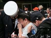 Familiares de víctima del 11-S