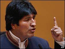 Bolivian President Evo Morales (10 September)