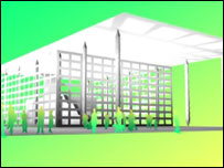 Graphics of the Welsh Assembly