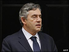 Gordon Brown - looking in trouble