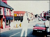 RUC image of suspect car