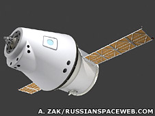 Artist's impression of Russian-European spacecraft (Anatoly Zak / RussianSpaceWeb.com)