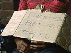 Homeless man (generic)