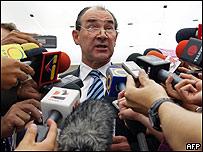 El embajador de Estados Unidos en Venezuela, Patrick Duddy