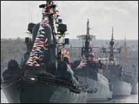 قوات بحرية روسية