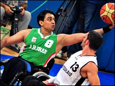 Iran's basketball team