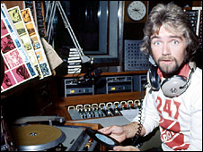 Noel Edmonds in 1976