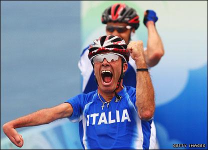 Italian cyclist Fabio Triboli