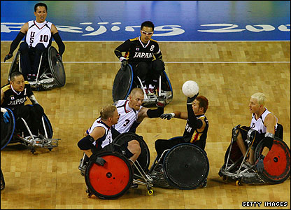 USA v Japan wheelchair rugby