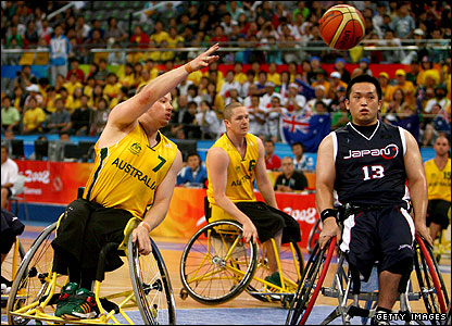 Japan v Australia wheelchair basketball