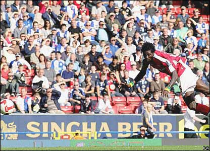 Emmanuel Adebayor, Arsenal