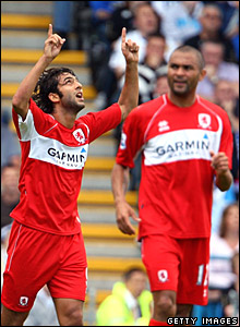 Mido, Alfonso Alves, Middlesbrough