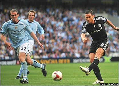 Richard Dunne, Manchester City; Frank Lampard, Chelsea