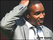Blackburn manager Paul Ince