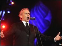 Jose Carreras performed during the BBC Proms In The Park 2008 concert in Hyde Park