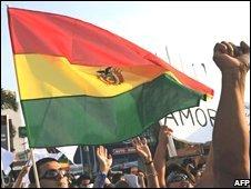 Demonstration for peace in Santa Cruz, 13 September