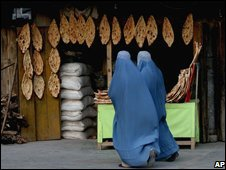 Two Afghan women