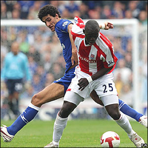 Marouane Fellaini, Everton; Abdoulaye Fay, Stoke City