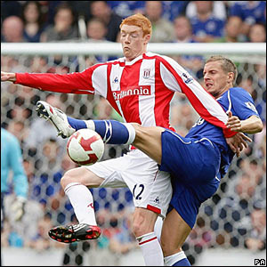 Dave Kitson, Stoke City; Phil Jagielka, Everton
