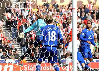 Stoke City equalise