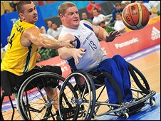 GB men's basketball take on Australia