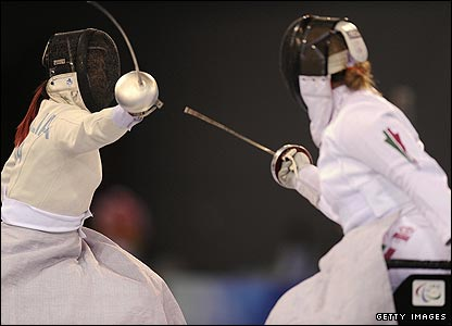 Women's fencing in Beijing