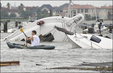 on 13 September 2008 in Nassau Bay, Texas