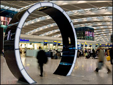 Arc - art installation at Terminal 5