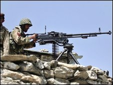Pakistani soldier in South Waziristan (File photo)