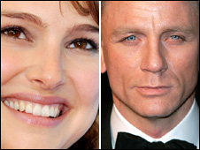 Natalie Portman [Picture: Getty] and Daniel Craig [AP]