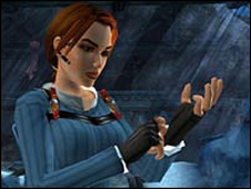 Image of Lara Croft from the Tom Raider computer game