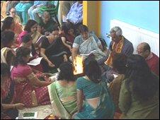 Hindu gathering