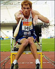 Stephen Miller won gold in Athens