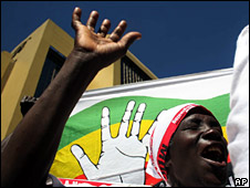 MDC supporter in Harare