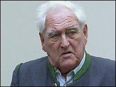 Josef Scheungraber, in court 15/09/08