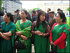 Gurkhas' wives