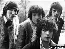 Roger Waters, Nick Mason, Syd Barrett and Richard Wright