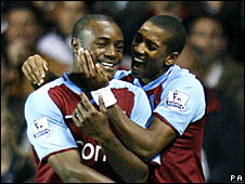Nigel Reo-Coker and Ashley Young