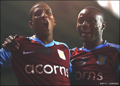 Ashley Young and Nigel Reo-Coker