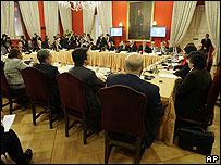 Reunión de Unasur en Santiago