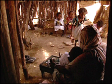 Interior of home in Eritrea