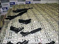 US$205 millones incautados en México producto del narcotráfico (Foto: DEA)