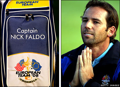 Nick Faldo will be hoping for great things from Sergio Garcia