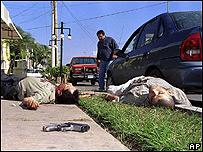 Dos cuerpos sin vida, entre ellos el del jefe de la droga Ramón Arellano Félix