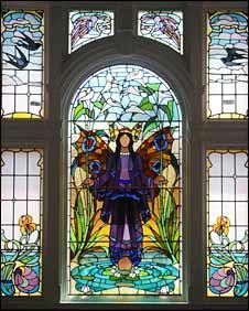 Victoria Baths window